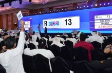 Dubai car number plate R13 sells for Dhs2.9m at RTA auction