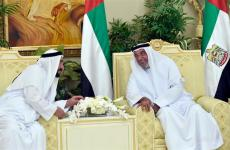Video: UAE President Sheikh Khalifa exchanges Eid greetings