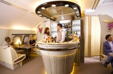 Emirates deploys first A380 with revamped onboard lounge