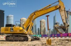 Construction work begins at Uptown Dubai district