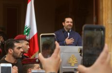 "Lebanon's Aoun says Hariri to ""certainly"" stay as PM"