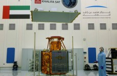 Video: First UAE-made satellite flown to South Korea for launch