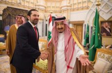 Lebanon's Hariri meets Saudi king for first time since crisis