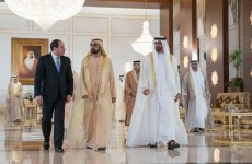 Egypt's Sisi visits UAE