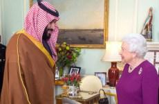 UK's May defends Saudi ties as crown prince gets royal welcome in London