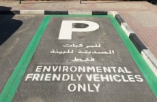 Dubai opens 70 free parking spaces for electric vehicles