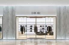 Dior opens a new boutique in Dubai Mall