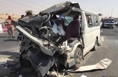 Three dead, eight injured in traffic accident in Dubai