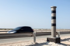 Motorist caught driving at 225km/hour on UAE road