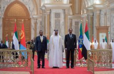 UAE welcomes leaders from Ethiopia and Eritrea