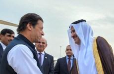Pakistani PM Imran Khan arrives in Saudi, may seek financial help