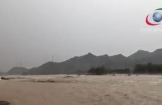 Video: Heavy rains in parts of the UAE, Sharjah-Kalba road closed