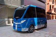 Abu Dhabi's Masdar City unveils new autonomous shuttle