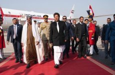 UAE's Sheikh Mohamed bin Zayed visits Pakistan, meets PM Imran Khan