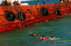 Indian sailors rescued by Dubai police after their ship capsizes