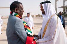 Sheikh Mohamed bin Zayed meets Zimbabwe President in Abu Dhabi