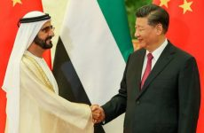 Sheikh Mohammed meets with Chinese President in Beijing