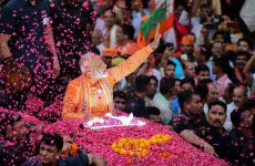 Indian PM Narendra Modi's BJP party wins election, claims victory