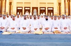 In pictures: UAE leaders perform Eid Al Fitr prayers