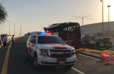 Dubai bus crash: Omani driver charged with 'wrongful' death of 17 passengers