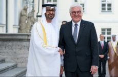 Abu Dhabi Crown Prince begins two-day visit to Germany