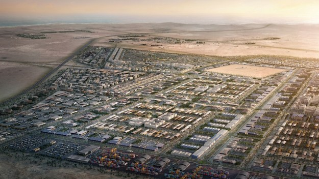 Pics: Masterplan approved for first phase of Oman's mega