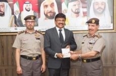 Sharjah grants first gold card permanent residency to Indian businessman