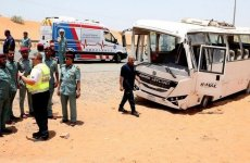 Two workers killed in bus accident in the UAE
