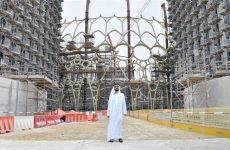 In pics: Sheikh Mohammed inspects progress at Dubai Expo 2020 site