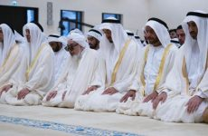 In pictures: UAE leaders perform Eid prayers
