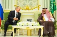 Saudi, Russia sign multi-million dollar investment deals during Putin visit