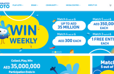 UAE's Emirates Loto weekly draw with up to Dhs50m jackpot confirmed for April 18