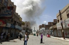 Heavy Bombing On Yemen Border Area By Saudi Forces And Houthis
