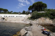 Thousands sign petition against beach closure as Saudi king visits French Riviera