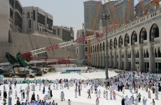Saudi prosecutors bring charges over Grand Mosque crane disaster