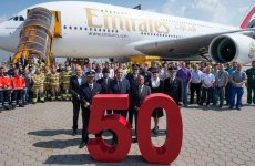 Emirates Takes Delivery Of 50th A380