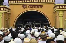 Bomb blast kills policemen near Eid prayers in Bangladesh