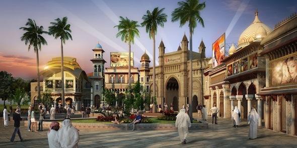 Bollywood Parks Dubai _ Entry Gate