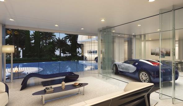 Bugatti Veyron takes pride of place in the ETTORE 971 Bugatti Styled Vil...[1]