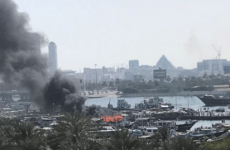 Cargo boat sinks after Dubai Creek fire