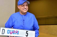 Video: Dubai businessman pays nearly $9m for a number plate