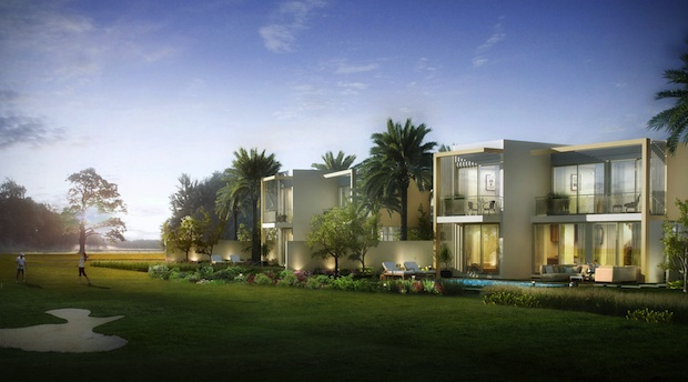 Emaar South - Golf villa exterior[2]