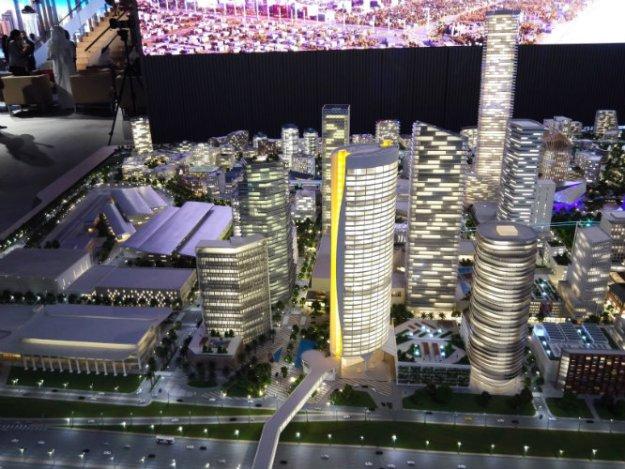 Jumeirah Central building