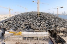 Abu Dhabi Reports Progress In Louvre Museum Construction