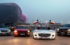 Mercedes-Benz Reports Record Year In Middle East