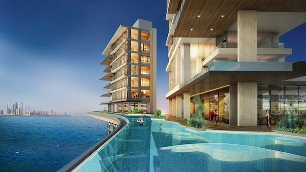 Palm 360 infinity roof top pool and penthouses