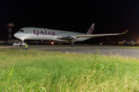 Qatar Airways A350 3