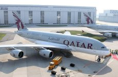Pictures: Qatar Airways Receives First Airbus A380