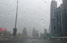 Videos: Heavy rains, hail hit parts of the UAE