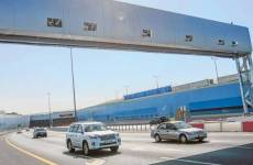 New salik toll gate begins operations in Dubai
